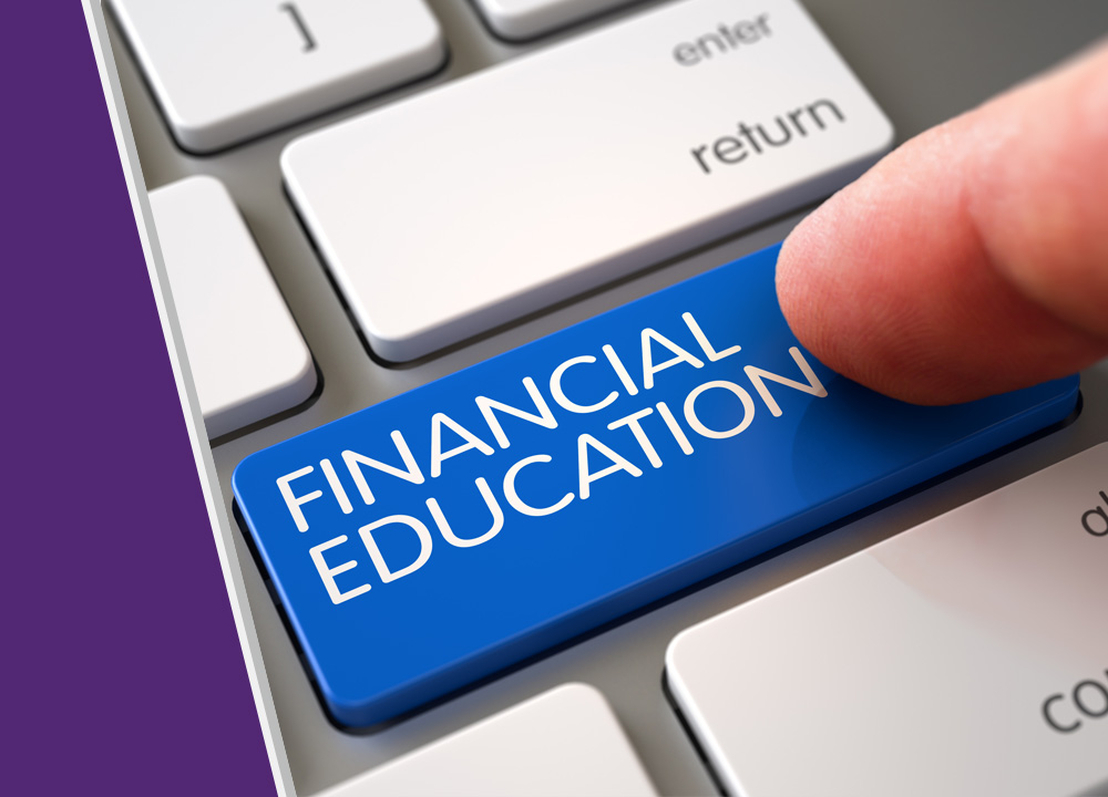 Financial Education graphic